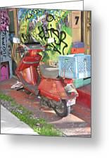 California Crayons Greeting Card by Todd Sherlock