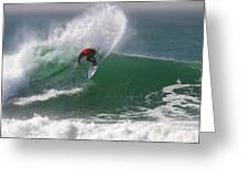 California Surfing 3 Greeting Card by Larry Marshall