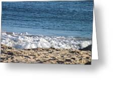 Calm Ocean Greeting Card by Jamie Diamond