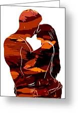 Camouflage Lovers Greeting Card by Stefan Kuhn