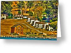 Camp Reynolds Angel Island Greeting Card by Cheryl Young