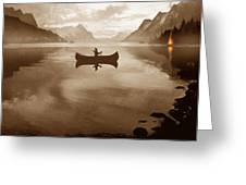 Camp Waters Greeting Card by Robert Foster