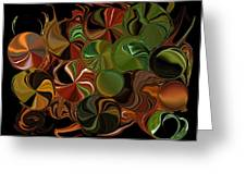 Candy Dish Greeting Card by Steven Richardson