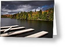 Canoe Lake Greeting Card by Cale Best