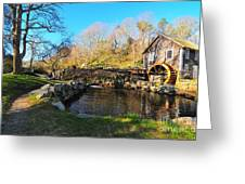 Cape Cod Grist Mill Greeting Card by Catherine Reusch  Daley