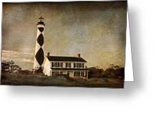 Cape Lookout Greeting Card by Joye Ardyn Durham