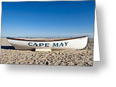 Cape May Greeting Card by John Greim
