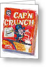 Capn Crunch Greeting Card by Russell Pierce