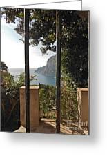 Capri Greeting Card by Italian Art