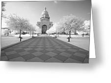 Captiol Ir Greeting Card by John Gusky