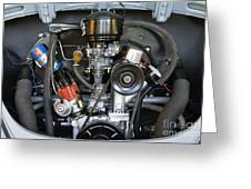 Car Engine Greeting Card by Andersen Ross