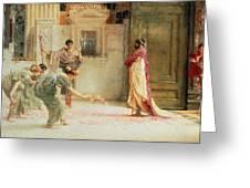 Caracalla Greeting Card by Sir Lawrence Alma-Tadema