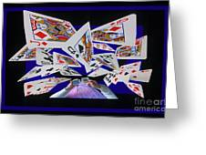 Card Tricks Greeting Card by Bob Christopher