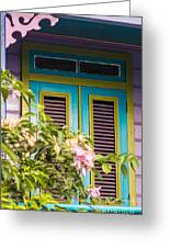 Caribbean Blue Greeting Card by Rene Triay Photography