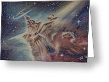 Carina Nebula Greeting Card by Thomas Maynard