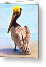 Carlos Greeting Card by Betsy C  Knapp