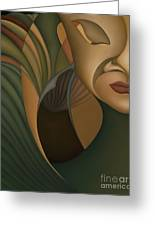 Carnival Greeting Card by Joanna Pregon