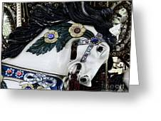 Carousel Horse - 9 Greeting Card by Paul Ward