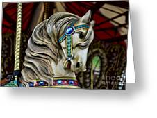 Carousel Horse 3 Greeting Card by Paul Ward