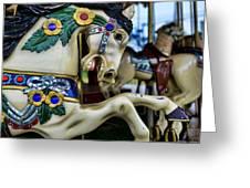 Carousel Horse 5 Greeting Card by Paul Ward