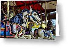 Carousel Horse 6 Greeting Card by Paul Ward