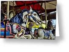 Carousel Horse 6 Greeting Card by Paul Ward