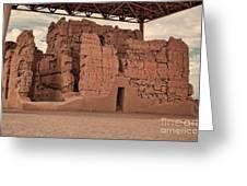 Casa Grande Ruins IIi Greeting Card by Donna Van Vlack