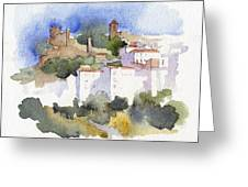 Casares 1 Greeting Card by Stephanie Aarons