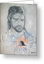 Cast Your Care On Him Greeting Card by Raymond Doward