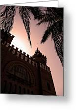Castell Dels Tres Dragons - Barcelona Greeting Card by Juergen Weiss