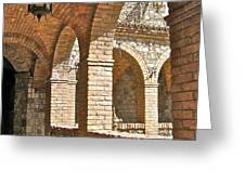 Castello Amorosa Greeting Card by ITALIAN ART