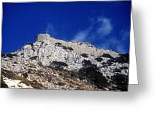 Castle Apalirou Greeting Card by Andonis Katanos