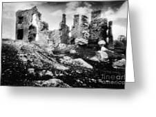 Castle Lyons Greeting Card by Simon Marsden