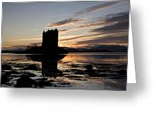 Castle Stalker Greeting Card by Pat Speirs