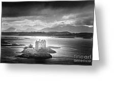 Castle Stalker Greeting Card by Simon Marsden