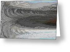Catch The Wave Greeting Card by Tim Allen
