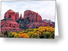 Cathedral Rock Greeting Card by Kristin Elmquist