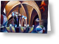Caverna Magica Greeting Card by Patrick Anthony Pierson