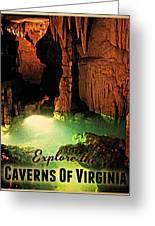 Caverns Of Virginia Greeting Card by Flo Karp