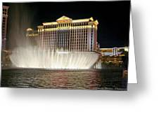 Ceasars Palace Greeting Card by Charles Warren