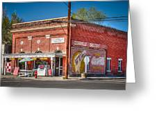 Cedarville California Grocery Store Greeting Card by Scott McGuire