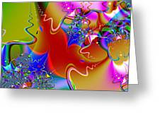 Celebration . Square . S16 Greeting Card by Wingsdomain Art and Photography