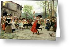 Celebration Greeting Card by William Henry Hunt
