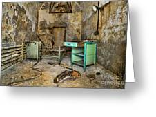 Cell Block 5 Greeting Card by Paul Ward