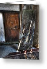 Cell Doors - Eastern State Penitentiary Greeting Card by Lee Dos Santos