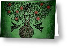 Celtic Tree Of Life Greeting Card by Sacred  Muse