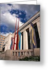 Center For Visual Art Nashville Greeting Card by Susanne Van Hulst