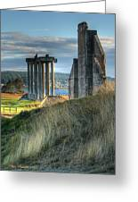 Central Meadow Ruins Greeting Card by Chris Anderson