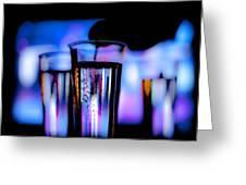 Champagne Greeting Card by Hakon Soreide