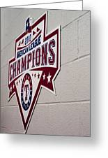 Champions Greeting Card by Malania Hammer